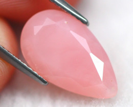 Pink Opal 3.35Ct Natural Faceted Peruvian Andean Pink Opal E2410