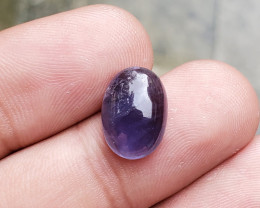 14x10mm Iolite Cabochon Loose Natural UnTreated F38