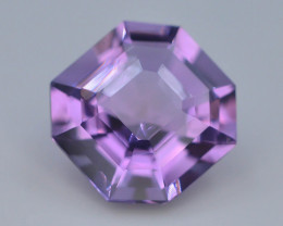 7.25 CT Natural Gorgeous Color Fancy Cut Amethyst ~  H