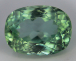 5.35 Ct Green Spodumene Gemstone From Afghanistan~ G AQ
