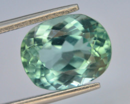 5.70 Ct Green Spodumene Gemstone From Afghanistan~ G AQ