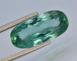 7.90 Ct Green Spodumene Gemstone From Afghanistan~ G AQ