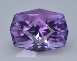 4.85 CT Natural Gorgeous Color Fancy Cut Amethyst ~  H