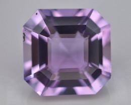 10.80 CT Natural Gorgeous Color Fancy Cut Amethyst ~  H