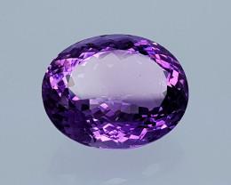 22.65 Crt Natural Amethyst  Natural Gemstones JI48