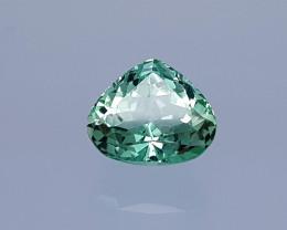 9 Crt Green Spodumene Natural Gemstones JI48