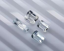 5.85 Crt Aquamrine  Natural Gemstones JI48
