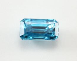 8.42ct Lab Certified Natural Blue Zircon