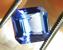 2.91 Carat Blue African VVS Tanzanite - Gorgeous
