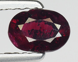 0.59 Ct Natural Ruby Unheated Mozambique Quality Gemstone. RB 45