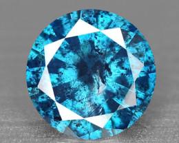 0.17 Cts SPARKLING RARE FANCY BLUE COLOR NATURAL DIAMOND