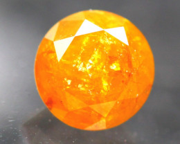 Diamond 0.72Ct Natural Fancy Orange Color Diamond 21CF24