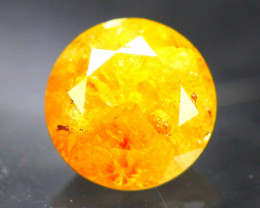 Diamond 0.79Ct Natural Fancy Yellow Color Diamond 21CF29
