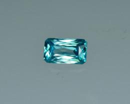 1.86 Cts Fabulous Lustrous Cambodian Blue Zircon