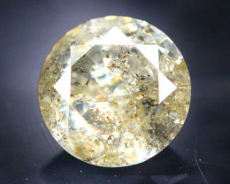 Diamond 0.43Ct Natural Brilliant Round Cut Fancy Color Diamond 21CF64