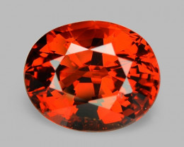 3.18 Cts NATURAL SPESSARTITE GARNET FANTA RED LOOSE GEMSTONE