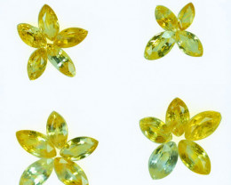 5.05Ct Natural Yellow Sapphire Marquise Parcel Ceylon