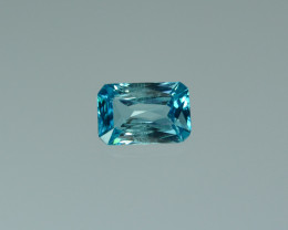 2.64 Cts Fabulous Lustrous Cambodian Blue Zircon