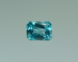 2.78 Cts Fabulous Lustrous Cambodian Blue Zircon