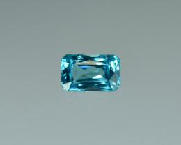 3.29 Cts Fabulous Lustrous Cambodian Blue Zircon