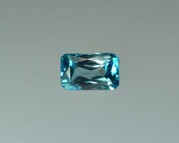 3.31 Cts Fabulous Lustrous Cambodian Blue Zircon