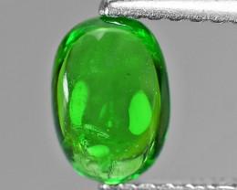 0.89 Cts Untreated Earth mined Green Color Natural Tsavorite Garnet Gemston