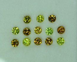 BLACK FRIDAY SALE !!!!$$$$ 2.60 Cts Stunning Lustrous 3.5mm Sphene Lot