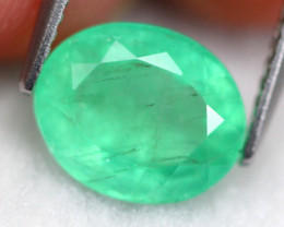 Emerald 2.89Ct Natural Green Colombia Emerald D2502