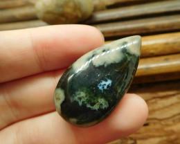 Natural ocean jasper bead cabochon (G1293)