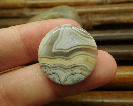 Crazy lace agate gemstone cabochon (G1294)