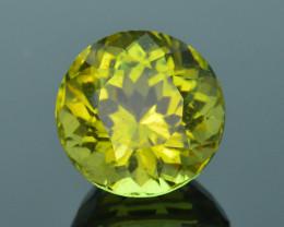 Rare 8.77 ct Amazing Luster Lemon Green Apatite SKU.4
