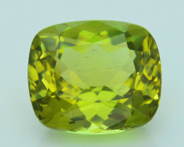 Rare 11.52 ct Amazing Luster Lemon Green Apatite SKU.4