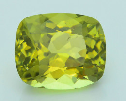 Rare 5.71 ct Amazing Luster Lemon Green Apatite SKU.4