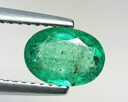 0.90 ct Fantastic Gem Awesome Oval Cut Top Luster Natural Emerald
