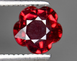 1.25 Cts Natural Cherry Red Garnet Awesome Color ~ Africa FG3