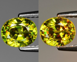Mind Blowing Fire 1.19 Cts Chrome Sphene ~ SF65