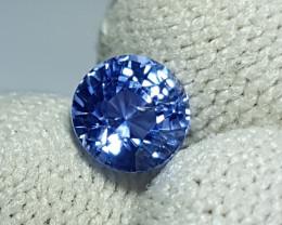 NO HEAT CERTIFIED 1.28 CTS NATURAL BEAUTIFUL ROUND MIX BLUE SAPPHIRE CEYLON