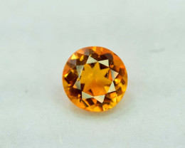0.55 Carat AAA Grade MariGold Color Extremely Rarest Chlinohumite Gemstone
