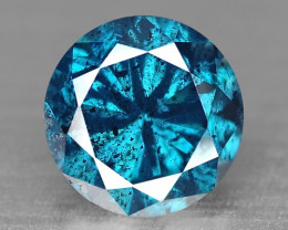 0.25 Cts SPARKLING RARE FANCY BLUE COLOR NATURAL DIAMOND