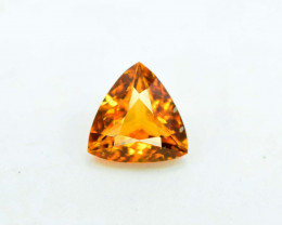 0.85 Carat AAA Grade MariGold Color Extremely Rarest Chlinohumite Gemstone