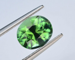 Top Color 1.50 Ct Lagoon Green Tourmaline From Afghanistan