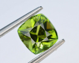 Top Color 1.30 Ct Lagoon Green Tourmaline From Afghanistan