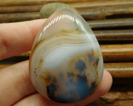 Montana agate cabochon bead (G1342)