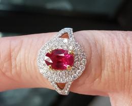 1.51ct Ruby Ring - Burma