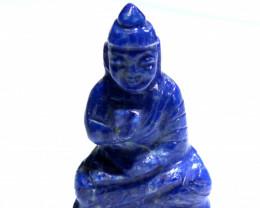 61.35 cts Buddha Carving Lapis Lazuli LT-924