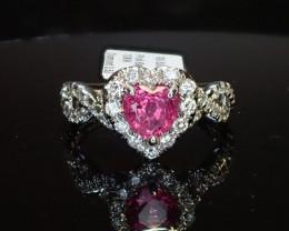 1.02ct Sapphire Ring