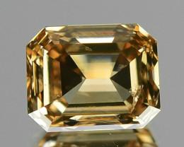 1.00 CTS AIG CERTIFIED UNTREATED INTENSE BROWNISH ORANGE NATURAL DIAMOND