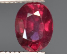 1.45 CT GRAPE GARNET TOP LUSTER GEMSTONE G6