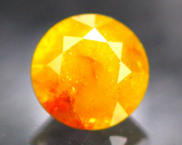 Diamond 0.92Ct Natural Fancy Orange  Color Diamond 22CF92