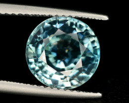 Top Blue ~5.40 Ct Natural Zircon From Cambodia